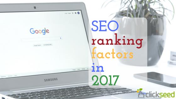 SEO Ranking Factors that Still Matter in 2017
