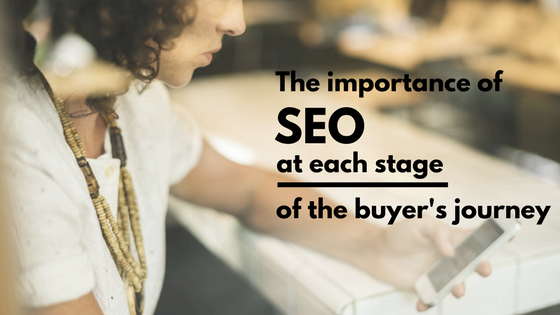 The importance of seo at each stage of the buyer journey by ClickSeed