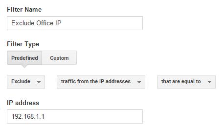 Exclude Single Internal IP