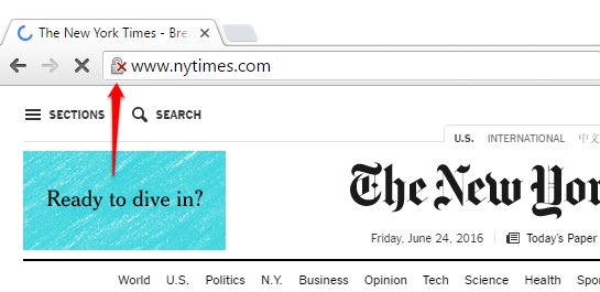 NY Times Non-Secure