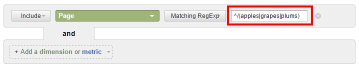 RegEx filter for multiple subfolders
