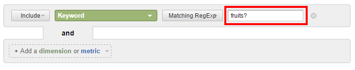 RegEx wildcard filter with question mark