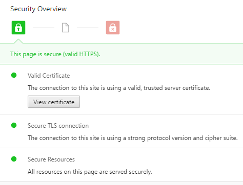 Security Overview in Chrome